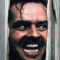 The Shining. Just watched this last week. Not as scary as I thought it would be, but still twisted and creepy.
