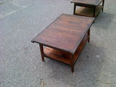 Landrum Tables pallet top coffee tables