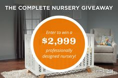 We're excited to announce the launch of our complete nursery giveaway, where you can win $2999 from @buybuybaby and a Premium Design Package from @NousDecor!