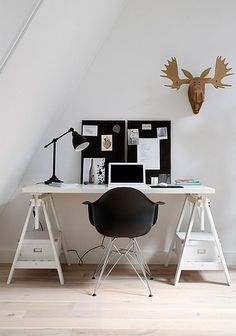 Check Out 15 Functional Home Office Design Ideas To Try. You don't have to have to dedicate an entire room to create an aesthetically pleasing and functional home office space.