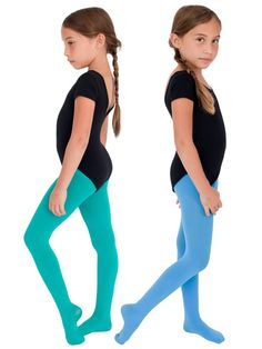 kids opaque color tights our future ballerina - Collants Opaques Colors