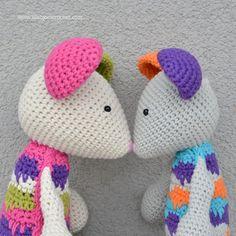 Lisa the Mouse - amigurumi crochet pattern by Lilla Bjorn
