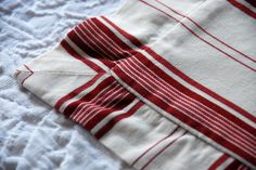 Pottery Barn Square Striped Pillow Covers