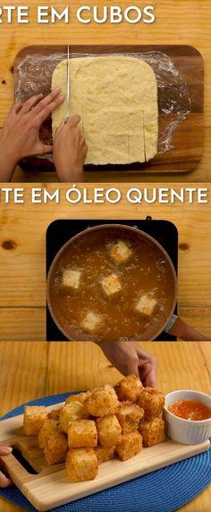 Dadinho de tapioca #Dadinho#comida #culinaria #gastromina #receita #receitas #receitafacil #chef #receitasfaceis #receitasrapidas