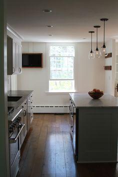 Farmhouse kitchen by Erik Block Design-Build