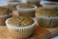 Low Carb Chocolate Chip Muffins--made with almond meal. SO delicious!