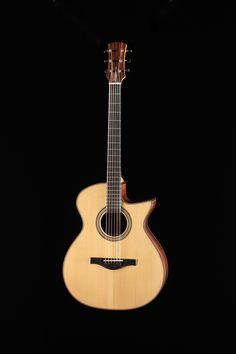 Guitare de Benjamin Paldacci. École nationale de lutherie, 2013
