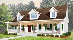 Cape Cod Modular Home Design, House Plans Hampton Virginia