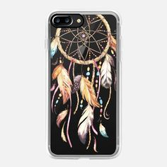 Watercolor Dreamcatcher Feather Dream Catcher - Classic Grip Case