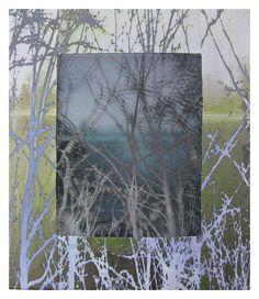 Wen Redmond - Fiber Art And Quilt Art Workshops Gelli Plate Printing, Printing On Fabric, Textile Printing, Landscape Quilts, Landscape Art, Fiber Art Quilts, Batik Quilts, Textiles, Dinosaur Design