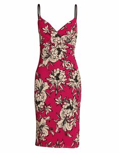 CREPE FABRIC PINK FLORAL PRINT DRESS WITH ADJUSTABLE STRAPS £ 4.95