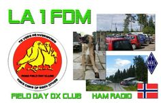 QSL card for my fielday activity mad 2011