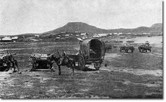 Boer-War Boer camp at the base of Majuba c 1881 The Settlers, Inner World, British Soldier, Military Photos, British Colonial, My Land, African History, World War I, Old Pictures