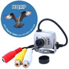 HQRP Wired Spy Hidden CCTV Security Surveillance Mini Color CMOS Camera Day Night Vision IR Infrared 3.6mm Pinhole Lens plus HQRP Coaster by HQRP. $18.91. HQRP CCTV Security Color Mini CMOS Camera. Their high sensitivity and resolution provide superior performance in most environmental conditions. HQRP Cameras provide optimal picture quality and durability. They greatly fit for use at home, in security systems, for entertainment purposes and at any place where you n...