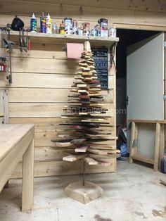 Sapin De Noël En Palette / Pallet Christmas Trees
