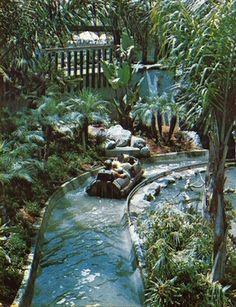 Busch Gardens/Busch Bird Sanctuary in California. Closed now, but was fun as a kid.