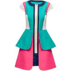 LATTORI Multilayered Sport Chic Dress
