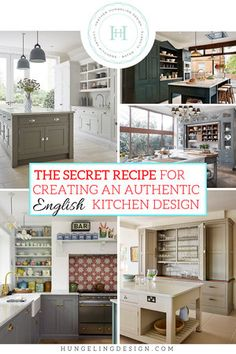 The Secret Recipe For A True English Kitchen. Its no mystery why Americans are enamored with English kitchens. Having a bespoke bench-made English kitchen is still the ultimate luxury item for high-end homes. So if youre interested in bringing a bi Kitchen Furniture, Kitchen Decor, Diy Kitchen, Kitchen Sink, Kitchen Ideas, Kitchen Modern, Kitchen Layout, Kitchen Designs, Rustic Kitchen