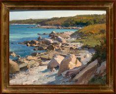 Clyde Aspevig oil- Shoreline- Naushon Island 11 x 14 Landscape Art, Landscape Paintings, Clyde Aspevig, Coastal Art, Western Art, Plein Air, Beautiful Landscapes, Impressionism, Image Search