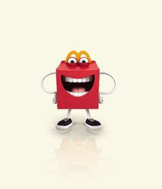 Hello, Happy! #happymeal #mcdonalds Mcdonalds Birthday Party, Birthday Parties, Mcdonalds Gift Card, Ronald Mcdonald, Party Themes, Character Design, Food And Drink, Nostalgia, Cards