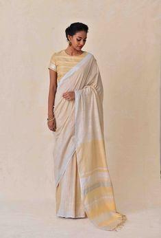 Laid-Back Luxury Collection . Latest Designer Sarees, Designer Dresses, Saree Collection, Color Combinations, Hand Weaving, Sari, Handloom Saree, Elegant, Luxury
