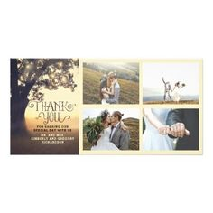 #wedding #thankyoucards - #Rustic Tree Dream Summer Wedding Thank You Card