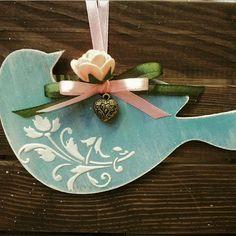 Jewelry box, home decor, personalized gifts by PrettyThingsZn - Kostüm Ideen Bird Crafts, Dyi Crafts, Wooden Crafts, Arts And Crafts, Paper Crafts, Christmas Tree Decorations, Christmas Crafts, Christmas Ornaments, Handmade Home