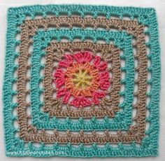 Vincent Crochet Granny Square