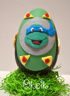 Teenage Mutant Ninja Turtles chocolate easter egg
