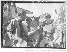 Tour de France 1936, 11e étape Nice-Cannes le 19 juillet : l'espagnol Federico Ezquerra (équipe Espagne/Luxembourg) vainqueur de l'étape