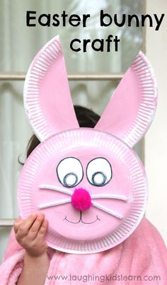 Oh so adorable and super simple! Love this cute Easter Craft for kids!