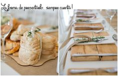 ideas para decorar un evento : via MIBLOG