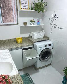 Industrial Kitchen Design, Kitchen Room Design, Laundry Room Design, Home Room Design, Home Design Decor, Bathroom Design Small, Bathroom Interior Design, Design Design, Outdoor Laundry Rooms
