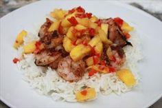 Jamaican Jerk Prawns with Pineapple Salsa ~ Gluten Free Club