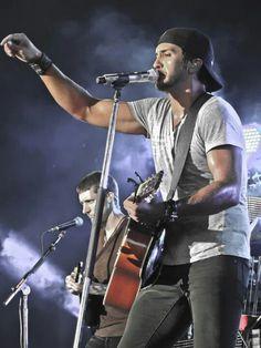 Luke Bryan in Bangor, Maine August 31st! :) Best concert  EVER !!!