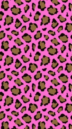 Cheetah Print Walls, Cheetah Print Wallpaper, Pink Wallpaper, Leopard Prints, Animal Prints, Cellphone Wallpaper, Iphone Wallpaper, Pink Animals, Forest Illustration