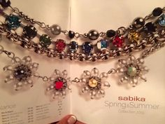New Sabika Jewelry Spring/Summer 2015 Collection  Contact me at stephaniesabika@gmail.com or 412-915-5982 to place an order, host a party or become a consultant!