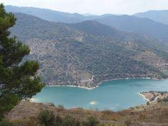 Het stuwmeer van Catalonië