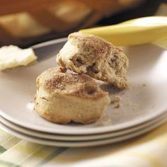 Maple Cinnamon Biscuits Recipe from Taste of Home