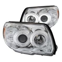 Anzo USA Headlights use innovative CAD technology to ensure a strong beam and impressive style. Custom-designed projector headlights fit your vehicle precisely. Features high-efficiency lights using CCFL Home Office, Toyota 4runner Sr5, Led Tail Lights, Projector Headlights, Bmw Cars, Car Manufacturers, Automotive Industry, Bar Lighting, Bmw E46