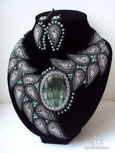 Natalya Uhryn  Bead embroidery artist from the Ukraine.
