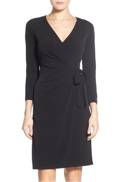 Main Image - Anne Klein Jersey Faux Wrap Dress