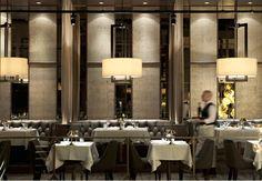 Black + Blue Steakhouse. Vancouver, British Columbia, Canada. BOX Interior Design.