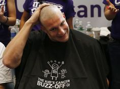 Two weeks ago Rob Gronkowski once again buzzed it off for kids with cancer. You can buzz your head too. For more information visit buzzforkids.org