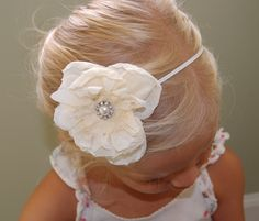 Flower Girl Headband