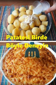 Patatesi Birde Böyle Deneyin – Salata meze kanepe tarifleri – The Most Practical and Easy Recipes Turkish Recipes, Ethnic Recipes, Homemade Beauty Products, Dessert Recipes, Desserts, Food Preparation, Macaroni And Cheese, Food And Drink, Health Fitness