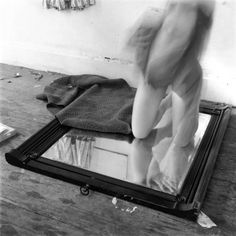 Yes, there are mirrors in the work of Francesca Woodman. A cliche, an homage, a recognition of photography itself being a similar reflection, or even a preoccupation with her own appearance?