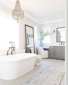 Another shot from our top pins!  More details, images + how to get the look on Beckiowens.com.  Pure Salt Interiors