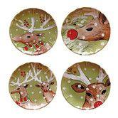 Found it at Joss & Main - 4 Piece Deer Friends Dinner Plate Set