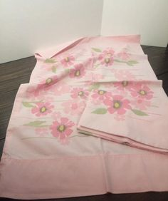 vintage pillowcase vintage pink pillowcase vintage floral